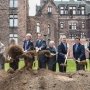 Groundbreaking for the Buffalo Architecture Center and Hotel Henry.  Credit Joe Cascio