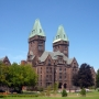 Richardson Olmsted Complex, a National Historic Landmark, reuse underway as the Buffalo Architecture Center and Hotel Henry