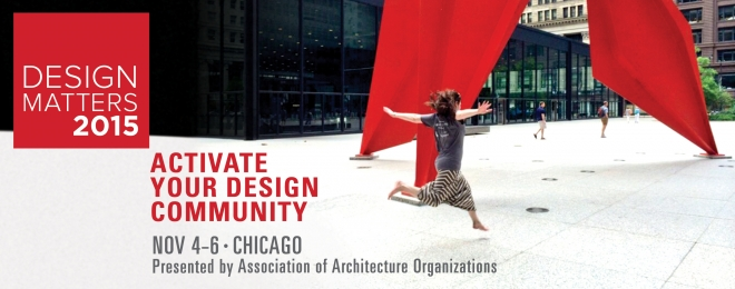 2015 Design Matters Conference: Activate Your Design Community