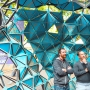 The Octahedron designed by Frankenstein, Inc., with LMN Architects at the 2013 Seattle Design Festival